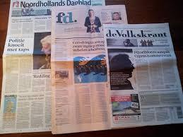 formaat krant
