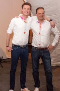 Marco Aarnink (links) en René de Heij