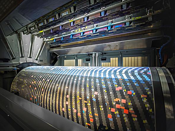 03-Ingebruiknametests KBA's RotaJET 168 bij Interprint-D