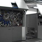 Geostick HP Indigo 20000 opstelling