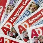CAO acties Persgroep Den Haag en Apeldoorn