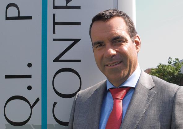 Menno Jansen, CEO van QIPC EAE.