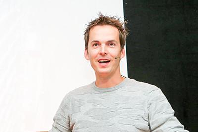Sander Willems van bouwbedrijf Heijmans.