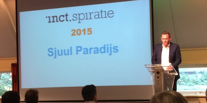 Sjuul Paradijs in nieuwe rol op inct•spiratie