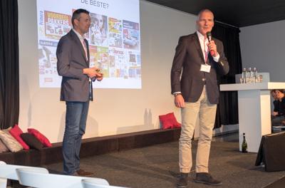 Mark de Jong en Ernst Jan Smids kozen de 'beste' en de 'slechtste' folder.