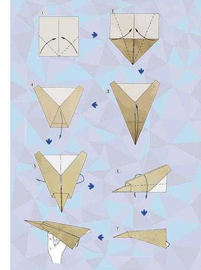 De Origami kalender van David Lin (GLR) was één van de winnaars bij de studenten.