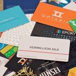 Visitekaartjes: de bestelprocessen bij internetdrukkers