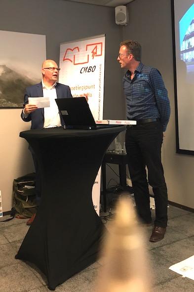 Albert Noppen in gesprek met Milan Saalmink