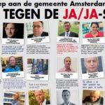 JA/JA-sticker vanaf 2018 in Amsterdam