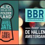 Congres Brievenbusreclame: 'Alice in Folderland'