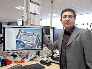 Dr.Shazad Khan van NTS Eindhoven