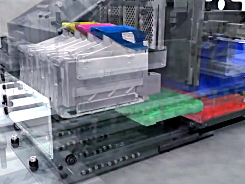 Reiniging nozzleplate C800-printkop